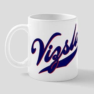 Vizslas BASEBALL SCRIPT Mug