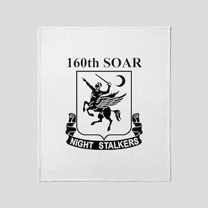 160th SOAR (2) Throw Blanket