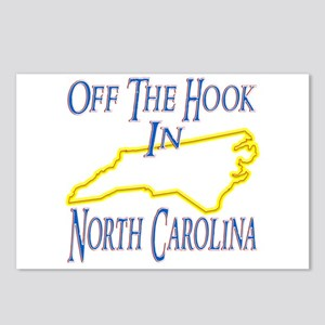 Off the Hook in NC Postcards (Package of 8)