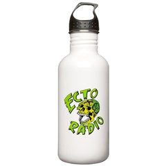 Ecto Radio Skull Logo Water Bottle