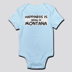 Happiness is Montana Infant Creeper