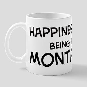 Happiness is Montana Mug