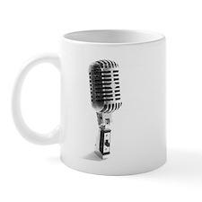 Vintage Microphone Mug