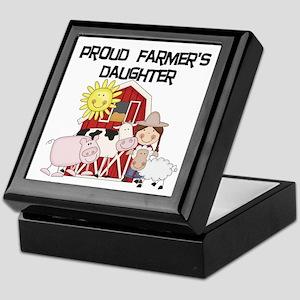 Proud Farmer's Daughter Keepsake Box