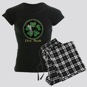 always faithful pit bull Women's Dark Pajamas
