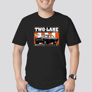 Two-Lane Speed Shop Men's Fitted T-Shirt (dark)