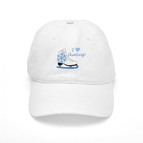 I Heart Skating Ice Skate Cap
