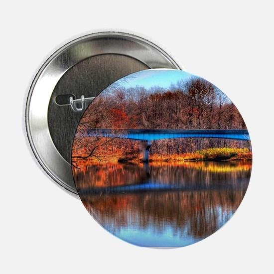 "Autumn Reflections 2.25"" Button"
