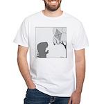 T-Rex Good Times (No Text) White T-Shirt