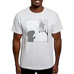 T-Rex Good Times (No Text) Light T-Shirt