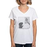 T-Rex Good Times Women's V-Neck T-Shirt