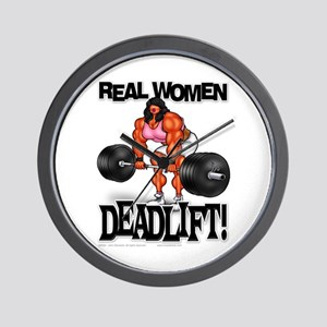 REAL WOMEN... DEADLIFT! - Wall Clock