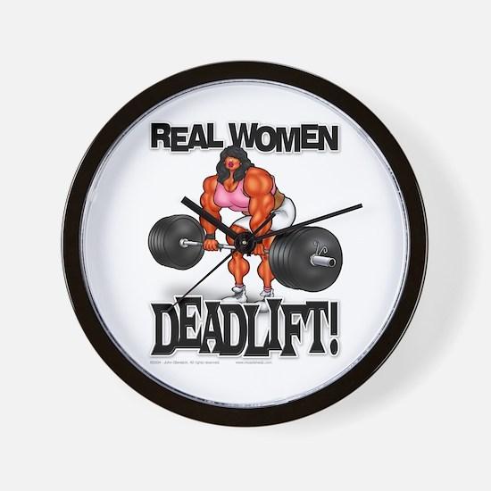 REAL WOMEN... DEADLIFT! - Wall Clock