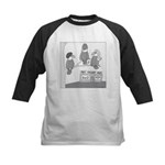 Bald Eagles (No Text) Kids Baseball Jersey