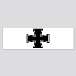 """Iron Cross"" Bumper Sticker"