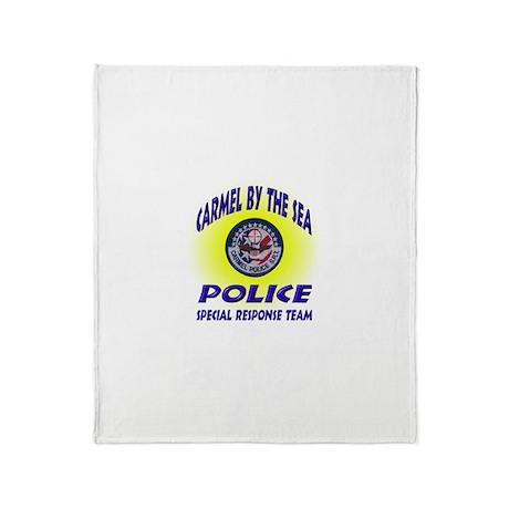 Carmel Police SRT Throw Blanket