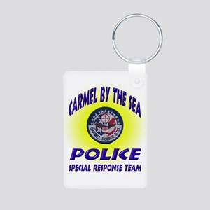 Carmel Police SRT Aluminum Photo Keychain