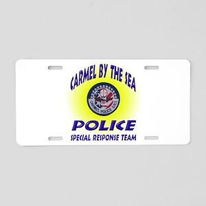 Carmel Police SRT Aluminum License Plate