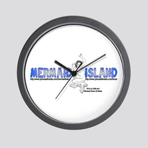 MERMAID ISLAND Wall Clock