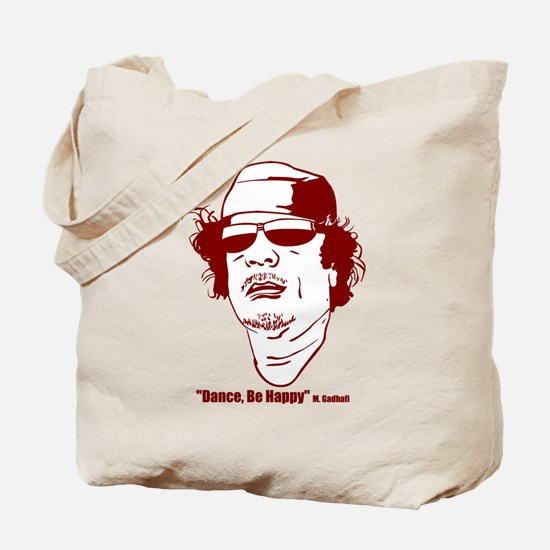 Moammar Gadhafi Tote Bag