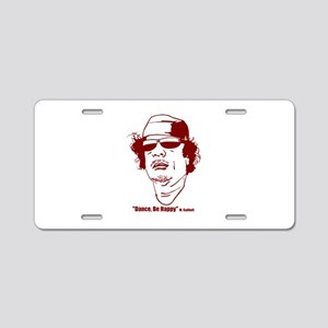 Moammar Gadhafi Aluminum License Plate