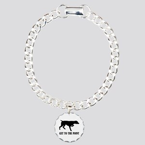 GET TO THE POINT Charm Bracelet, One Charm
