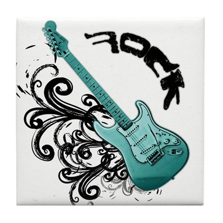 Rock It - Turquoise Tile Coaster