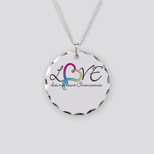 Love doesn't count Chromosome Necklace Circle Char