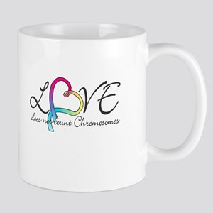 Love doesn't count Chromosome Mug
