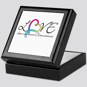 Love doesn't count Chromosome Keepsake Box