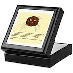 The Cat's Diary Keepsake Box