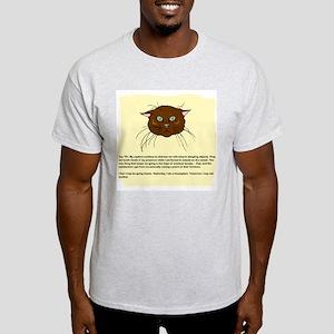 The Cat's Diary Ash Grey T-Shirt
