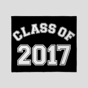 Class Of 2017 Throw Blanket