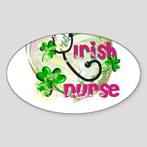 St. Patrick's Day Sticker (Oval)