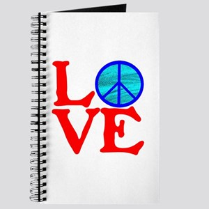 LOVE with PEACE SYMBOL Journal