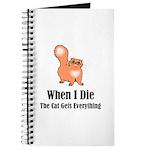 When I Die Journal