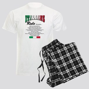 Italians Rules Men's Light Pajamas