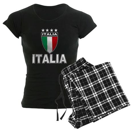 2010 World Cup Italia Women's Dark Pajamas