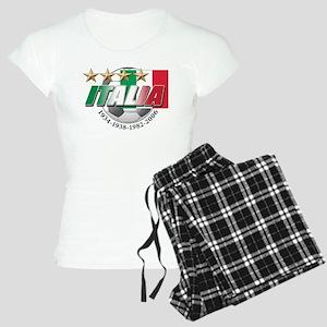 Italian soccer emblem Women's Light Pajamas