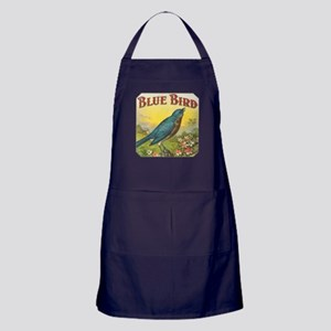 Blue Bird Apron (dark)