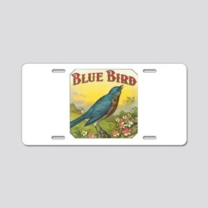 Blue Bird Aluminum License Plate