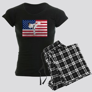 Karate Women's Dark Pajamas