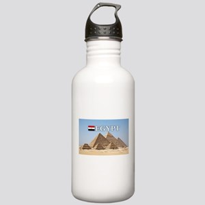 Giza Pyramids in Egypt Stainless Water Bottle 1.0L