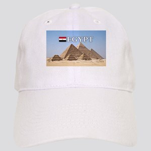 Giza Pyramids in Egypt Cap
