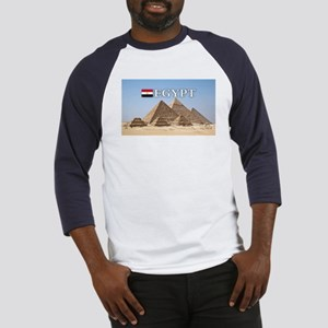 Giza Pyramids in Egypt Baseball Jersey