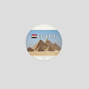 Giza Pyramids in Egypt Mini Button
