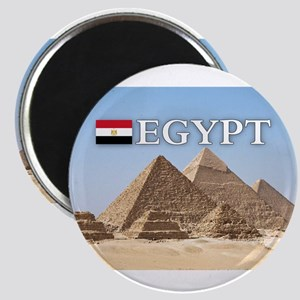 Giza Pyramids in Egypt Magnet