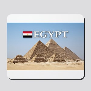 Giza Pyramids in Egypt Mousepad