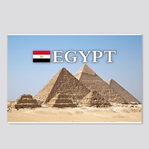 Giza Pyramids in Egypt Postcards (Package of 8)