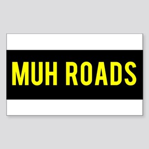 Muh Roads Ancap Libertarian Sticker